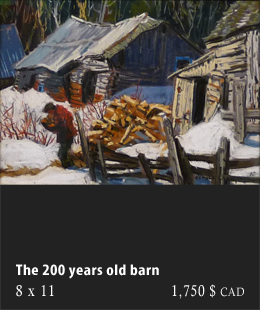 The 200 years old barn