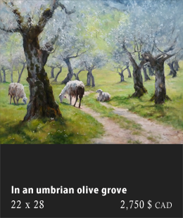 In An Umbrian Grove
